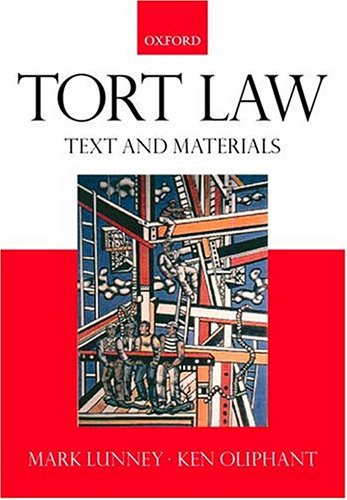 9780198764014: Tort Law: Text and Materials