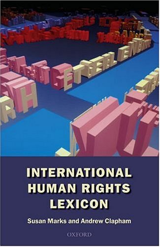 9780198764144: International Human Rights Lexicon