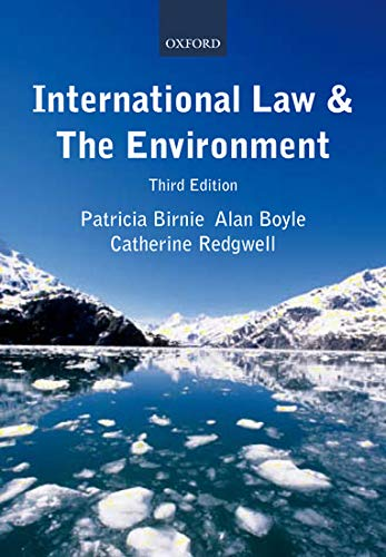 International Law and the Environment: Patricia Birnie, Alan