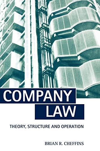 9780198764694: Company Law: Theory, Structure and Operation