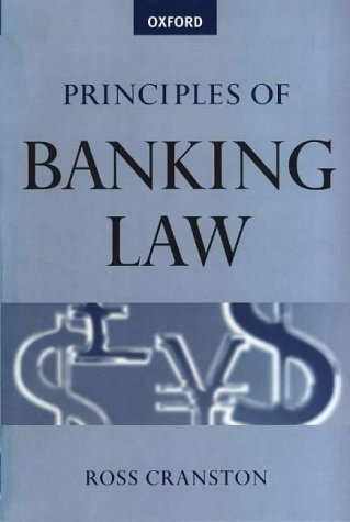 9780198764830: Principles of Banking Law