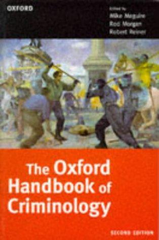 9780198764854: The Oxford Handbook of Criminology