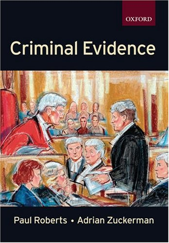9780198764977: Criminal Evidence (Clarendon Law Series)