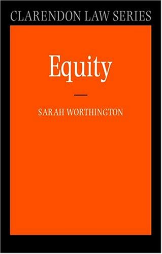 9780198765042: Equity (Clarendon Law Series)