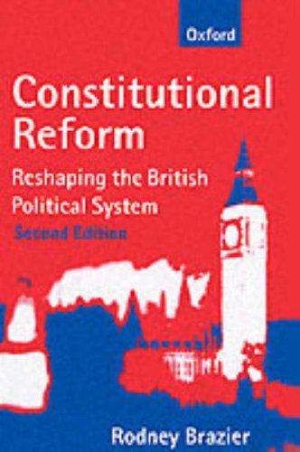 9780198765233: Constitutional Reform