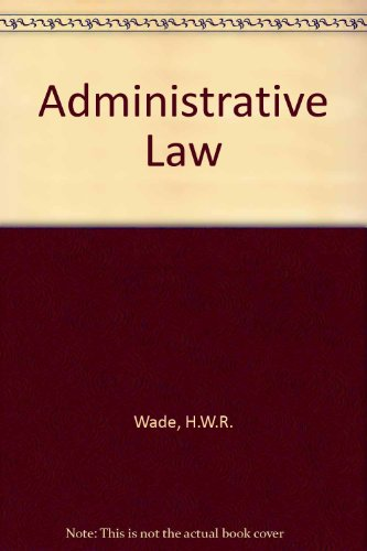 9780198765264: Administrative Law