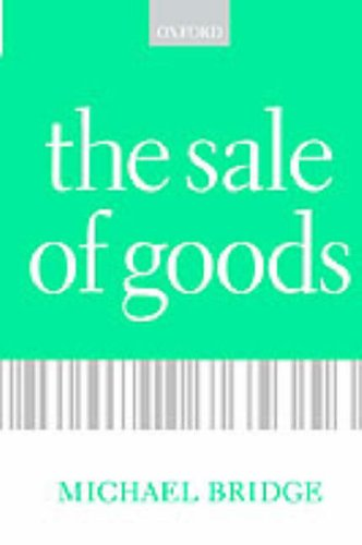 9780198765356: The Sale of Goods