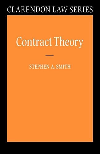 9780198765615: Contract Theory (Clarendon Law Series)