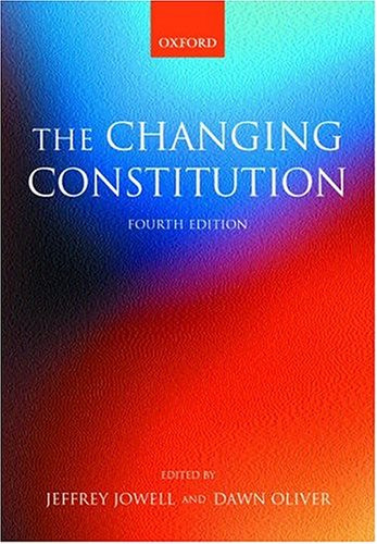 9780198765738: Changing Constitution
