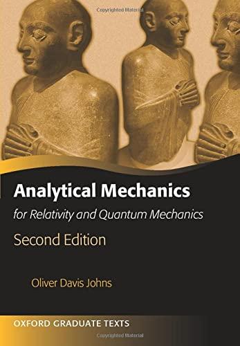 9780198766803: Analytical Mechanics for Relativity and Quantum Mechanics