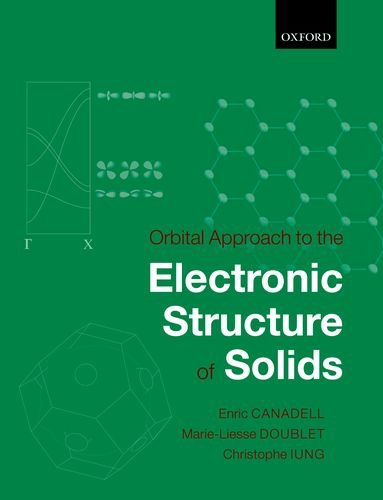 9780198767053: Orbital Approach to the Electronic Structure of Solids