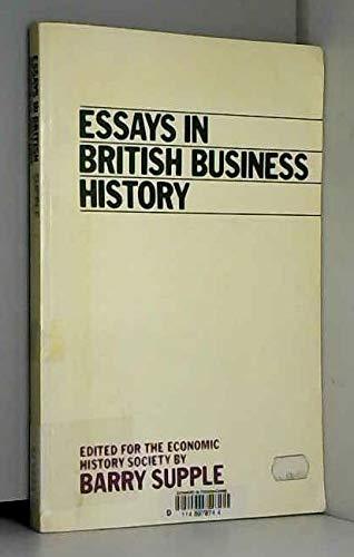 9780198770879: Essays in British Business History