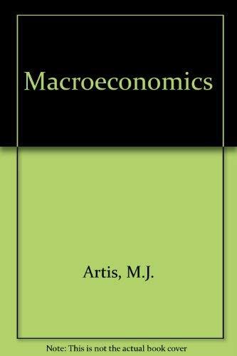Macroeconomics: M.J. Artis