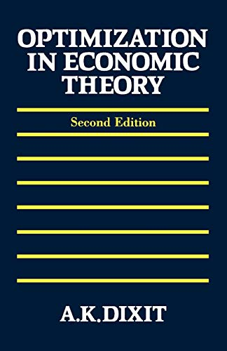 9780198772101: Optimization in Economic Theory