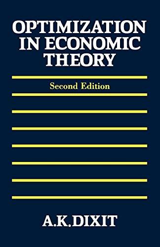 9780198772101: Optimization in Economic Theory