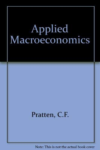 9780198772224: Applied Macroeconomics