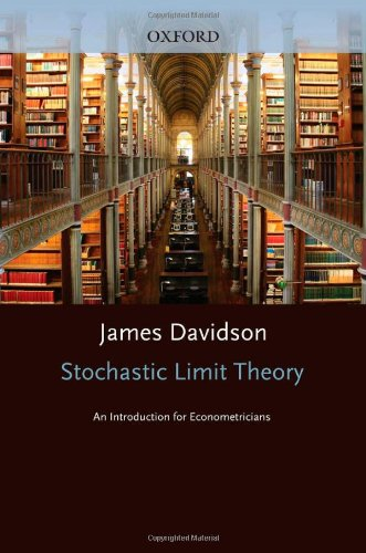 9780198774020: Stochastic Limit Theory: An Introduction for Econometricians (Advanced Texts in Econometrics)