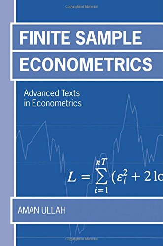 9780198774471: Finite Sample Econometrics (Advanced Texts in Econometrics)