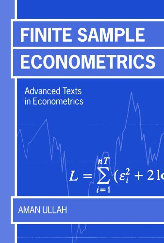 9780198774488: Finite Sample Econometrics (Advanced Texts in Econometrics)