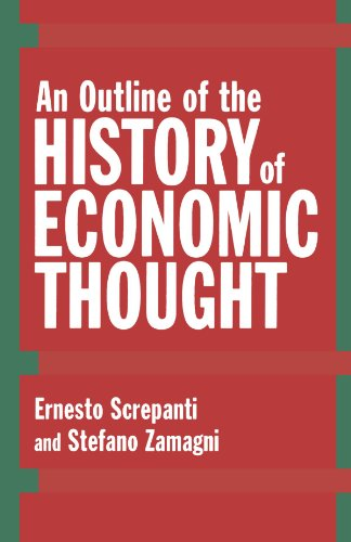 9780198774556: An Outline of the History of Economic Thought