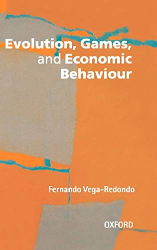 9780198774730: Evolution, Games, and Economic Behaviour