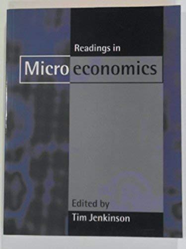 9780198774921: Readings in Microeconomics
