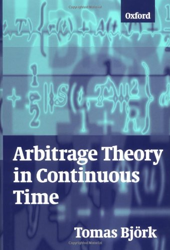 9780198775188: Arbitrage Theory in Continuous Time