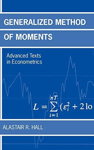 9780198775218: Generalized Method of Moments (Advanced Texts in Econometrics)