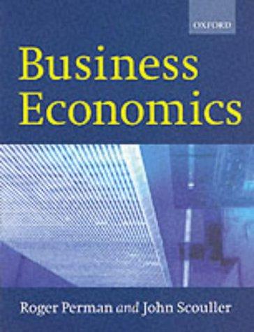 Business Economics: Roger Perman, John