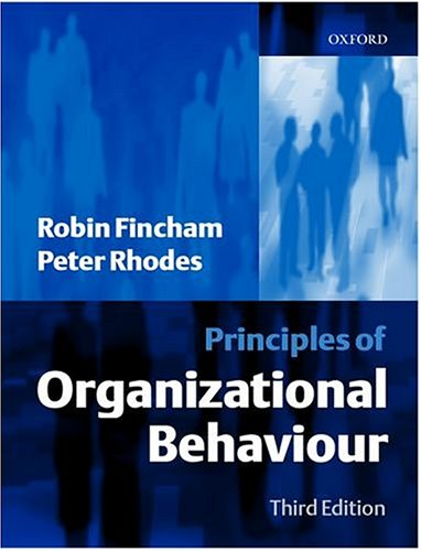 9780198775775: Principles of Organizational Behaviour