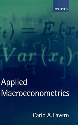 9780198775836: Applied Macroeconometrics