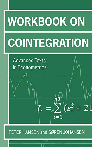 9780198776086: Workbook on Cointegration (Advanced Texts in Econometrics)