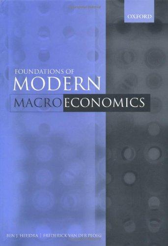 9780198776185: The Foundations of Modern Macroeconomics
