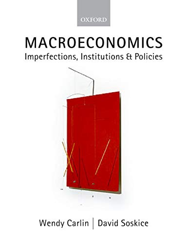 9780198776222: Macroeconomics: Imperfections, Institutions, and Policies