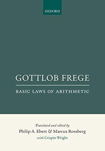 9780198777304: Gottlob Frege: Basic Laws of Arithmetic