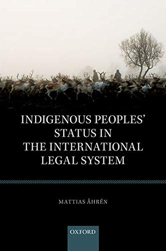 9780198778196: Indigenous Peoples' Status in the International Legal System