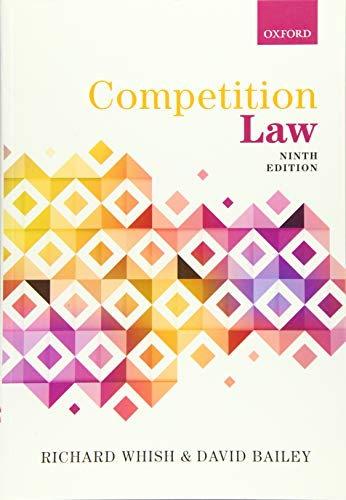 9780198779063: Competition Law