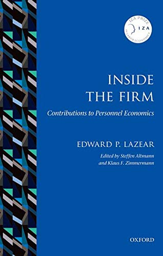 9780198779964: Inside the Firm: Contributions to Personnel Economics (IZA Prize in Labor Economics)