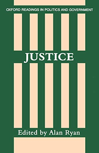 9780198780380: Justice (Oxford Readings in Politics & Government)