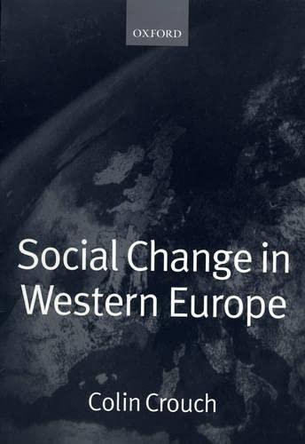 9780198780687: Social Change in Western Europe (European Societies)