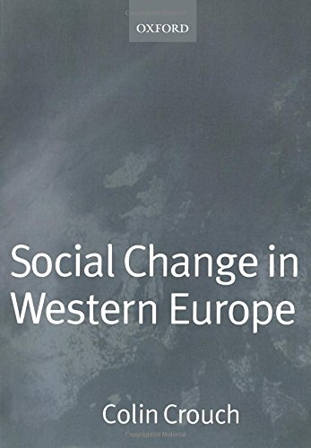 9780198780687: Social Change in Western Europe (European Societies)