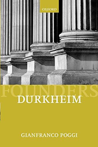 9780198780878: Durkheim (Founders of Modern Political and Social Thought)