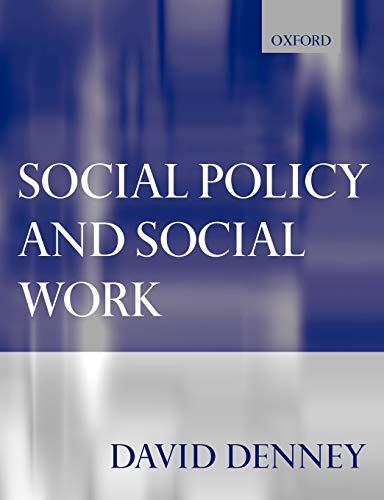 9780198781493: Social Policy and Social Work