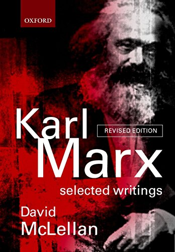 9780198782650: Karl Marx: Selected Writings