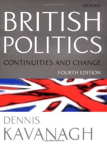 9780198782704: British Politics: Continuities and Change
