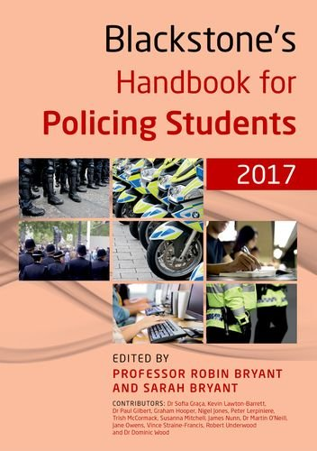 9780198783008: Blackstone's Handbook for Policing Students 2017
