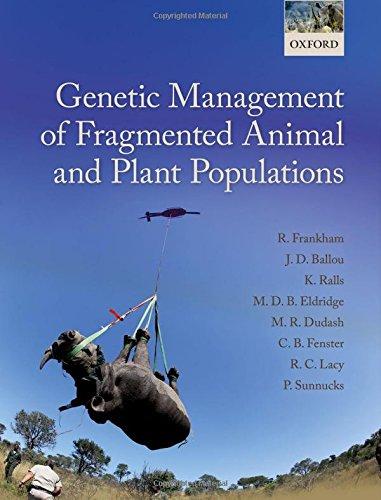 Genetic Management of Fragmented Animal and Plant: Richard Frankham (author),