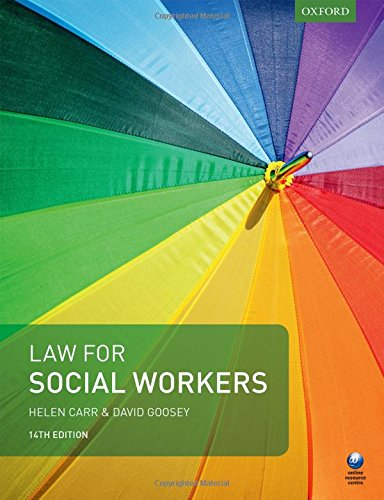 9780198783459: Law for Social Workers