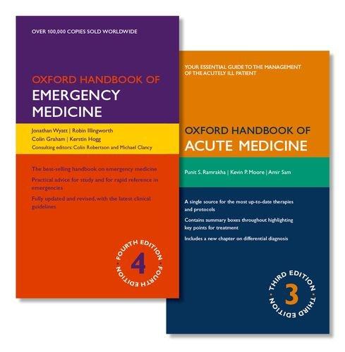 9780198784302: PACK OF OXFORD HANDBOOK OF EMERGENCY MEDICINE AND OXFORD HANDBOOK OF ACUTE MEDICINE (Oxford Handbooks)