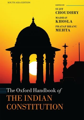 9780198787334: THE OXFORD HANDBOOK OF THE INDIAN CONSTITUTION
